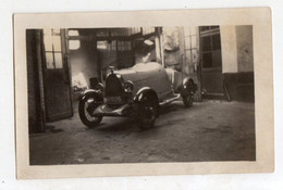 < Automobile Auto Voiture Car >> Photo Originale 7 X 11 DELFOSSE, +/- 1925, Tacot, Voiture De Course Cabriolet - Automobile