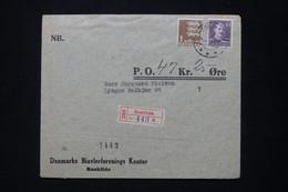 DANEMARK - Enveloppe En Recommandé De Roskilde - L 79742 - Briefe U. Dokumente