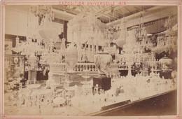 "Photo Foto - Formato ""Album"" - Cristallerie Baccarat, Exposition Universelle 1878 Paris - Oud (voor 1900)"