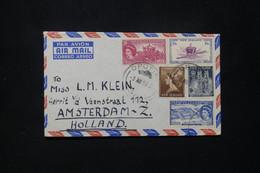 NOUVELLE ZÉLANDE - Enveloppe De Opotiki Pour Les Pays Bas En 1953  - L 79756 - Briefe U. Dokumente