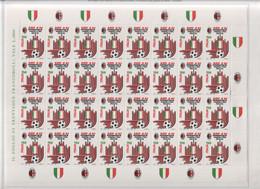 Italia - 1992 - Milan Campione D'Italia - Minifoglio Da 32v (rif. 2037C Del Cat. Unificato)  MNH** - Hojas Completas