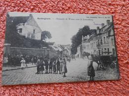Cpa Oudergem Auderghem Chaussée De Wavre Avec Le Loozenberg. - Auderghem - Oudergem