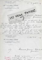 29 - Finistère - LANDIVISIAU - Facture LANCHOU-CORRE - Nouveautés, Tissus, Bonneterie, Layettes - 1929 - REF 176C - 1900 – 1949