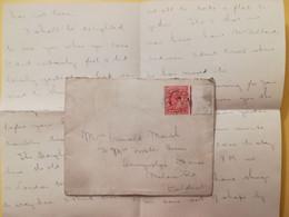 1911 BUSTA LETTERA GRAN BRETAGNA GREAT BRITAIN BOLLO RE EDOARDO KING EDOARD VII OBLITERE' - Briefe U. Dokumente