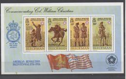 Bicentenaire De La Révolution Américaine - American Revolution Bicentennial   1976  XX - Isla De Man