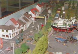 62  Etaples  La Maquette Du Port D'etables Boulevard  Bigot Descelers  - La Corderie - Etaples