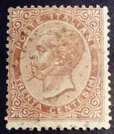 Italie Italy Italia 1863 Victor Emmanuel II Vert 18 O Used Usato - Usados