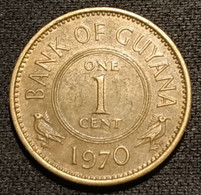 GUYANA - 1  CENT 1970 - KM 31 - Guyana
