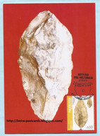 PORTUGAL - PRE-HISTORICAL ITINERARY PALEOLITHIC PREHISTORY MAXIMUM CARD - Maximumkaarten