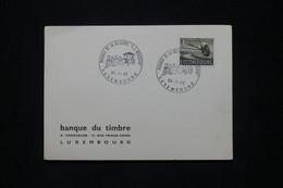 LUXEMBOURG - Oblitération Temporaire En 1962 Sur Carte ( Passage De La Diligence JJ Rousseau ) - L 79786 - Briefe U. Dokumente