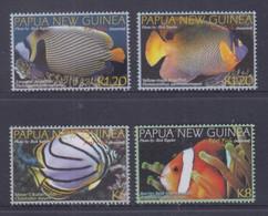 Papua New Guinea 2012 Reef Fish(Assorted) Stamps MNH - Papoea-Nieuw-Guinea
