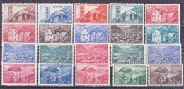Andorre 100 118 Série Complète Neuve * * TB MNH Cote 46.5 - Nuovi