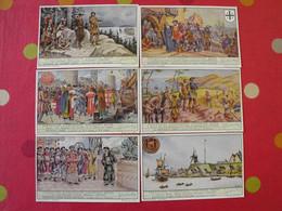 6 Images Chromo Liebig. Chromos. Séries S 1578. Tentatives D'expansion Coloniale Belge . 1953. - Altri