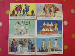 6 Images Chromo Liebig. Chromos. Séries S 1439. Danses De L'ancienne Grèce. 1942. - Altri