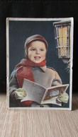"""Cpsm   THEME ENFANTS   """" Enfant Au Livre ,carte Italienne"""" - Sin Clasificación"""