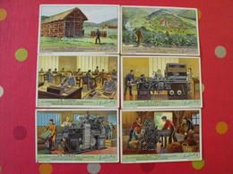 6 Images Chromo Liebig. Chromos. Séries S 1407. Le Tabac. 1939 - Altri