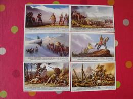 6 Images Chromo Liebig. Chromos. Séries S 1406. La Deuxième Guerre Punique. 1939 - Altri