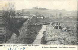 Chemin Du Trieu, Accédant Au Mont De Trinité - Tournai