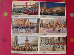 6 Images Chromo Liebig. Chromos. Séries S 1397. Fêtes Populaires Italiennes. 1939 - Altri