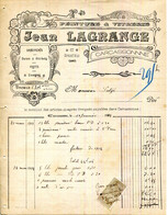 11.AUDE.CARCASSONNE.PEINTURE & VITRERIE.ORNEMENTS.DORURE.ENSEIGNES.J.LAGRANGE 67 GRANDE RUE. - Unclassified