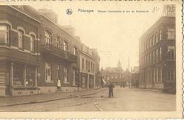 Pâturages Maison Communale Et Rue Du Commerce - Colfontaine