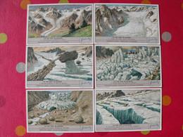 6 Images Chromo Liebig. Chromos. Séries S 1389. La Vie Des Glaciers. 1938 - Altri