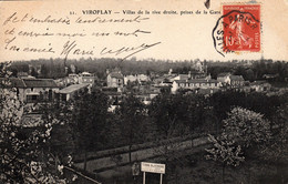 Thematiques 78 Yvelines Viroflay Villas De La Rive Droite Prises De La Gare - Viroflay