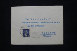 TURQUIE - Enveloppe De Istanbul Pour Paris - L 79815 - Briefe U. Dokumente