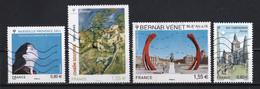 France 2013 : Timbres Yvert & Tellier N° 4713 - 4716 - 4723 - 4726 - 4734 - 4735 - 4736 - 4737 - 4738 Et 4743 Avec Obl.. - Gebruikt