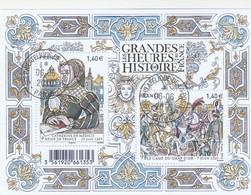 FRANCE 2016 BLOC OBLITERE LES GRANDES HEURES DE L HISTOIRE - F5067 - F 5067 - - Afgestempeld