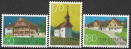 1998 Liechtenstein Mi. 1186-8 **MNH   Baudenkmäler Von Schellenberg. - Unused Stamps