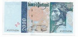 Portugal , 2000 Escudos , Bartolomeu Dias , 21/09/1995 , UNC - Portugal