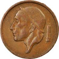 Monnaie, Belgique, Baudouin I, 50 Centimes, 1958, TB+, Bronze, KM:148.1 - 03. 50 Centimos