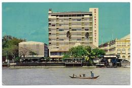 Hotel ORIENTAL Bangkok's Thailand Only Riverside +/-/1969-1970 Albert P Urscheler (Swiss) General Manager (TTB) - Tailandia