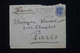 ESPAGNE - Enveloppe De Madrid Pour La France En 1930 - L 79821 - Briefe U. Dokumente