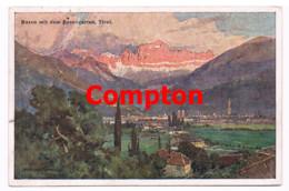 643 E.H.Compton Bozen Rosengarten Welschnofen Künstlerkarte - Bolzano (Bozen)