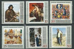 Allemagne Orientale DDR - Série Yvert N°1221  à  1226 ** 6 Valeurs Neuves Sans Charnière - Ad 41504 - Unused Stamps