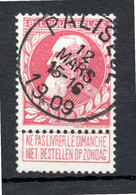 Belgie - Belgique - Paliseul - 1905 Thick Beard