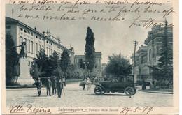 SALSOMAGGIORE - PALAZZO DELLE SCUOLE - Auto D'epoca - PARMA - VIAGGIATA - Parma