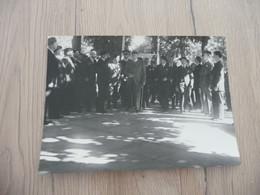Photo Originale 18 X 13 Maréchal Pétain En Inspection Milice Guerre 39/45 - Guerre, Militaire