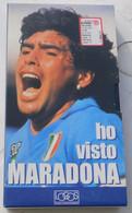 VHS - Ho Visto  MARADONA (Napoli) # Logos, 1998 # 65 Minuti - Immagini Pubbliche E Private Inedite - Sports