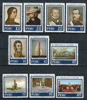 Perú 1971. Yvert 536-38 + A 298-304 ** MNH. - Pérou