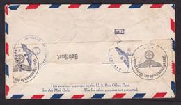 USA: Airmail Cover To Netherlands, 1941, 1 Stamp, Censored, German Censor Label, War, WW2 (minor Damage) - Briefe U. Dokumente