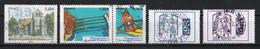 France 2015 : Timbres Yvert & Tellier N° 4969 - 4973 Et 4974 Se Tenant - 4975 - 4976 Et 4977 Avec Oblit. Rondes. - Used Stamps