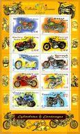 France**LUXE 2002 Bloc 51 P 3507 à 3516 Motos - Mint/Hinged