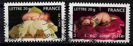 FRANCE 54 Et 55 C'est Une Fille C'est Un Garçon Adhésifs - Autoadesivi