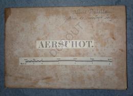 AARSCHOT - Kadasterkaart Aerschot - 1871 - Westmeerbeek-Houtvenne-Beersel-Rillaar-Gelrode-Haacht  (U578) - Topographische Karten