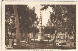 MALAGA PLAZA DE LA MERCED SIN ESCRIBIR - Málaga