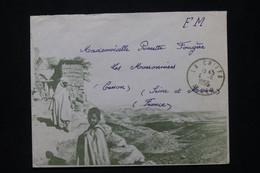 ALGÉRIE - Enveloppe ( Illustrée ) En FM De La Chiffa En 1956 Pour La France - L 79845 - Lettres & Documents