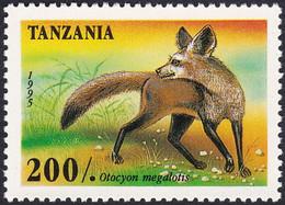 TANZANIE, 1995, Animaux (faune) | Mammifères | Renards - Chiens